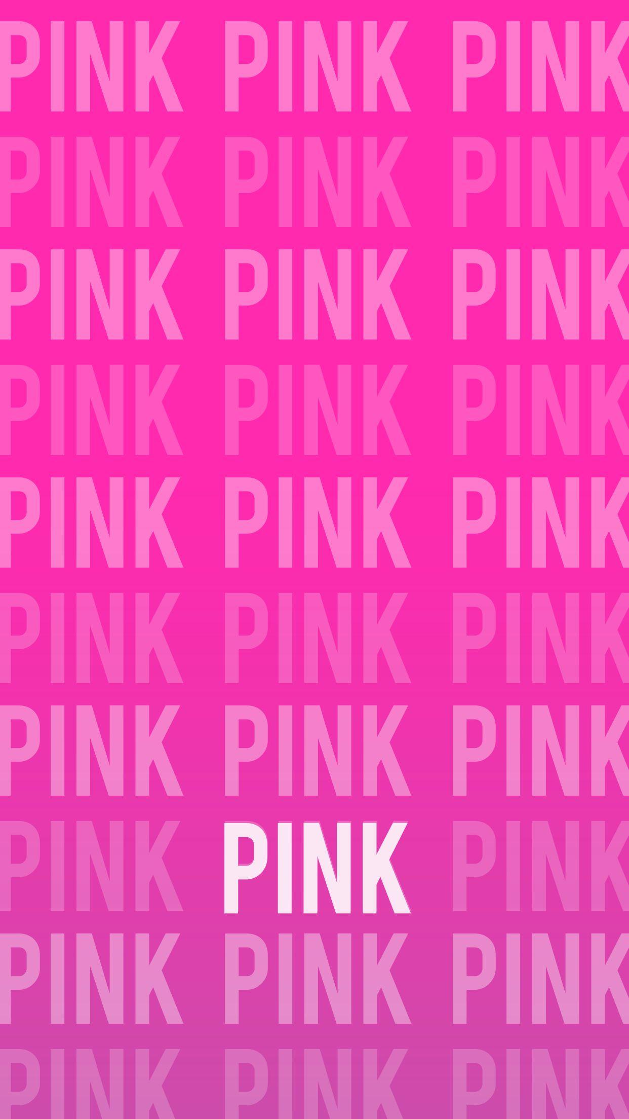 Vs victoria 39 s secret pink wallpaper iphone background for Victoria secret wallpaper for room