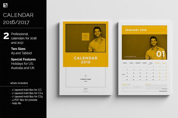 Business Calendar Design : Calendar templates for by egotype on creative