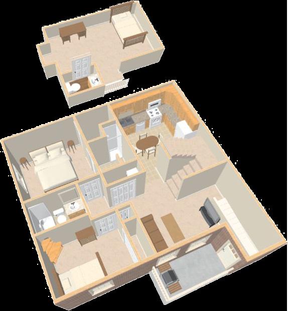 This Is A Loft Apartments At The Prairie Vista Apartments