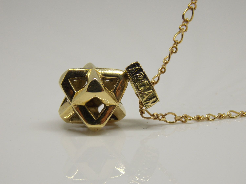 18k gold unique gold pendant sacred geometry gold merkaba 18k gold unique gold pendant sacred geometry gold merkaba geometry jewelry energy jewelry spiritual jewelry merkaba pendant aloadofball Gallery