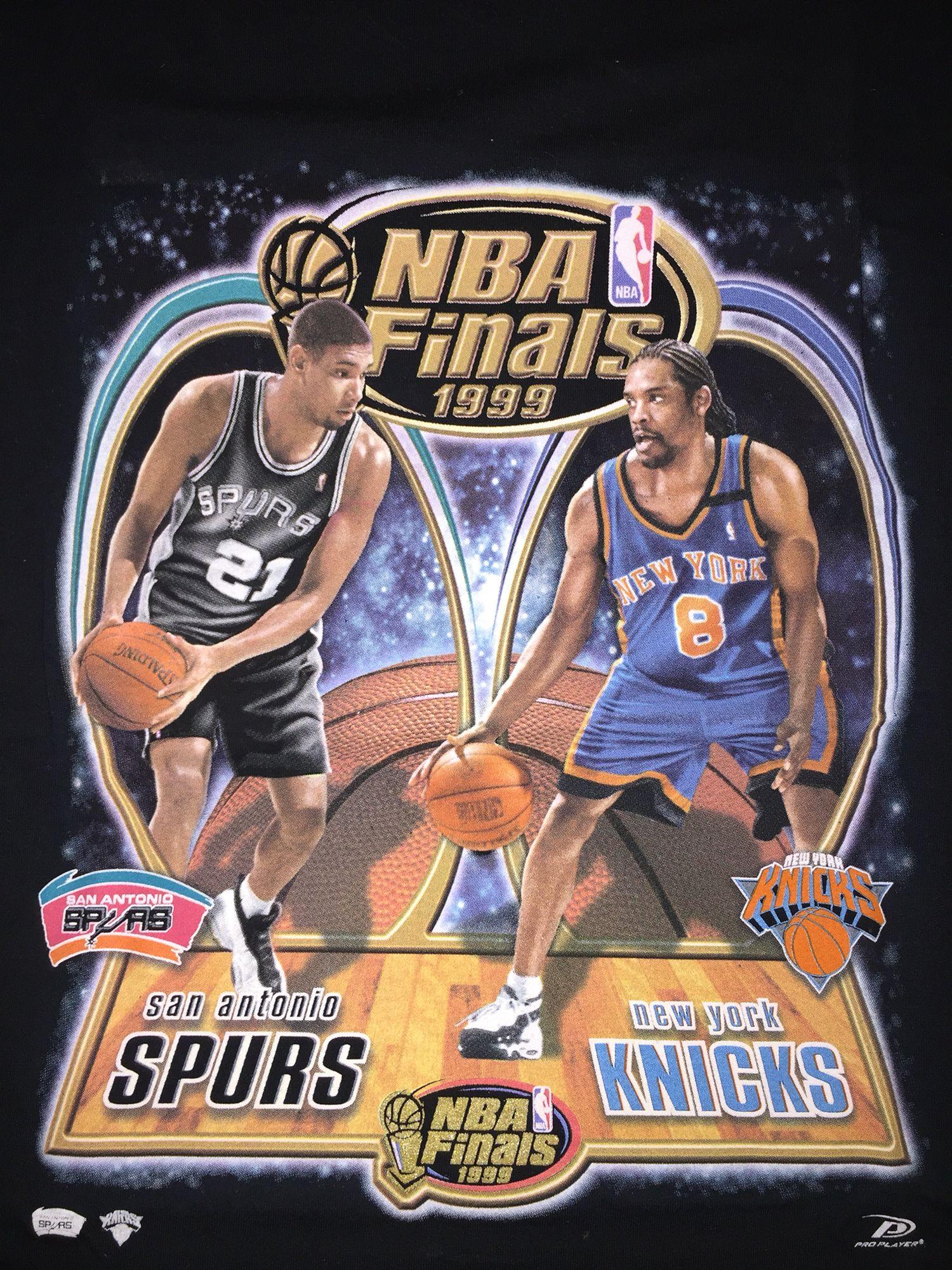 1999 NBA Finals | New York Knicks Vintage Championship and ...