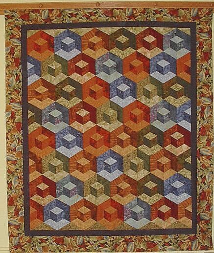 CLASSES - Sara Nephews pattern Honeycomb Waffle is found in her ... : honeycomb quilt pattern - Adamdwight.com