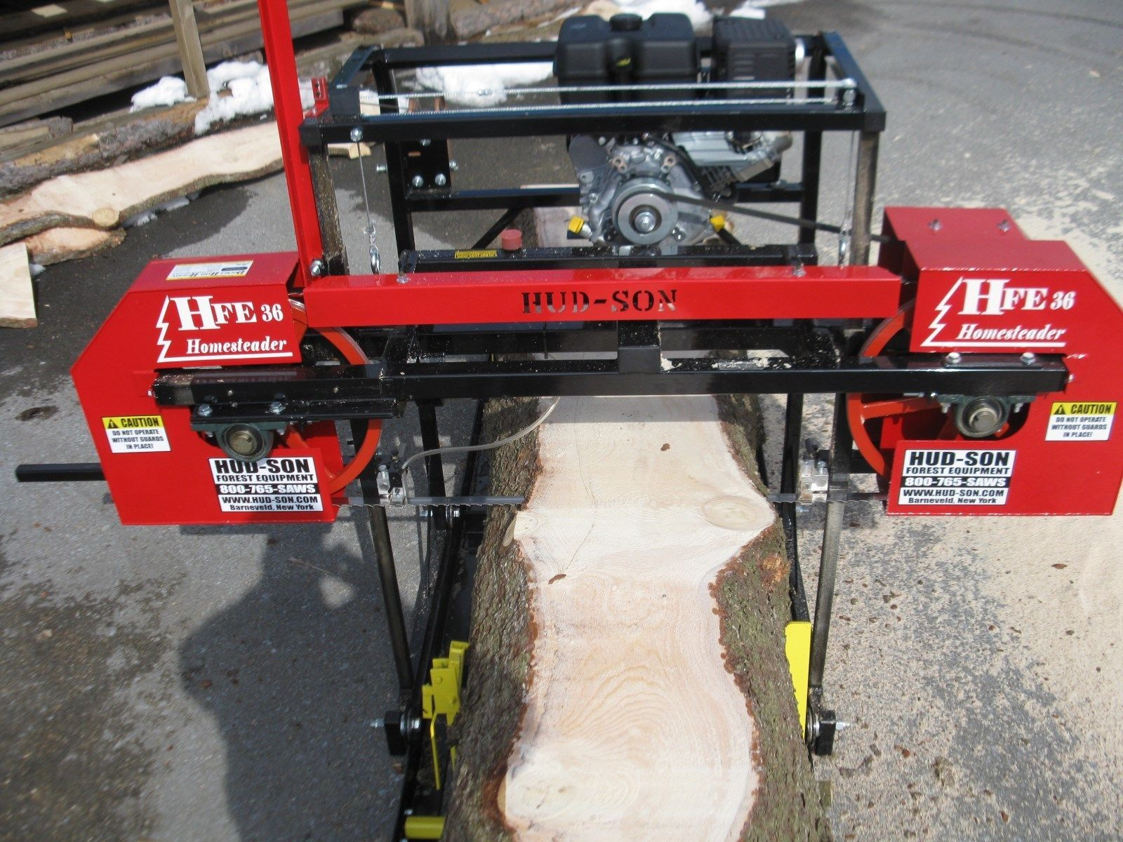 how to make a portable bandsaw mill