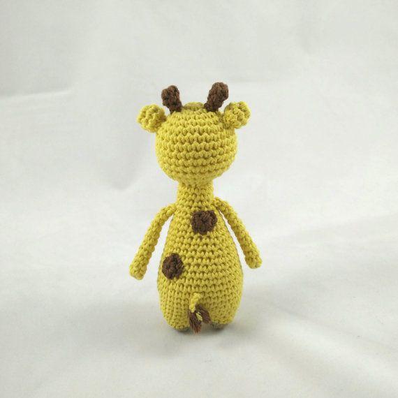 Mini Giraffe Crochet Amigurumi Pattern   Patrones de crochet, Jirafa ...