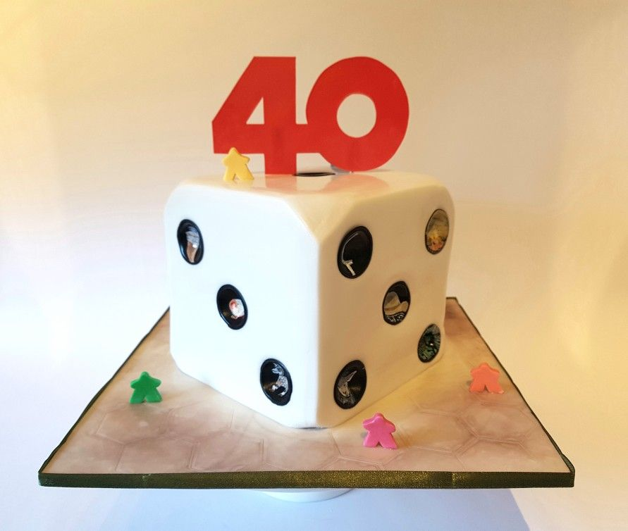 Board Game Cake Ideas