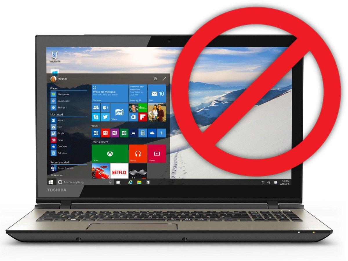 Egal Ob Sie Wollen Oder Nicht Nutzer Mit Windows 7 Oder 8 8 1 Werden Von Microsoft Zum Update Auf Windows 10 Genotigt Wir Erklaren Wie Sie Sich G Alpen Vieh