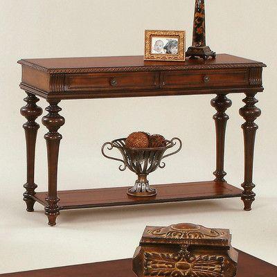 Progressive Furniture Mountain Manor Console Table