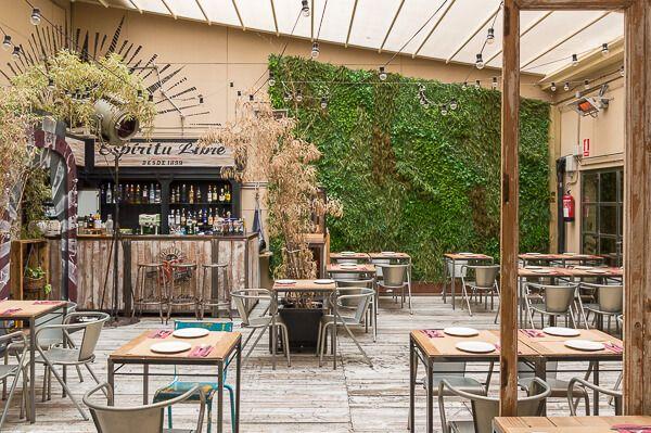 Restaurante Saporem Madrid Restaurantes Patio De Comidas Restaurantes Madrid