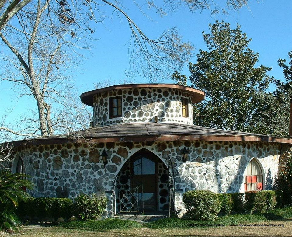 317 best cord wood designs images on Pinterest   Cordwood homes ...