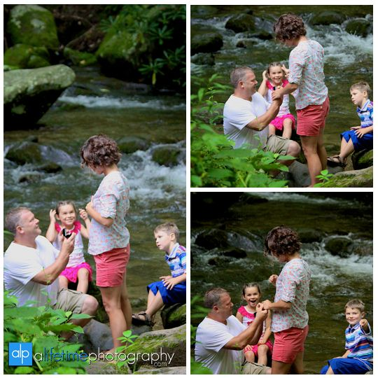 Marriage Proposal While On Vacation In Gatlinburg Tn In The Smoky