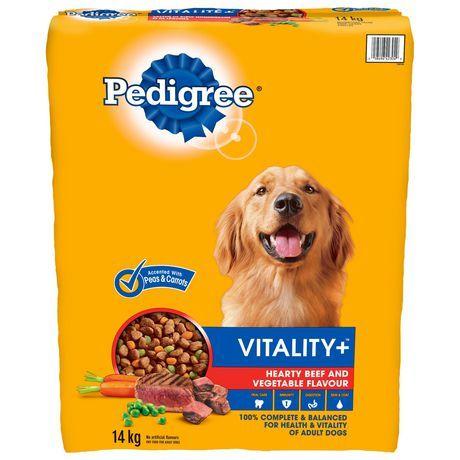 Pedigree Pedigree Vitality+ Hearty Beef And Vegetable 14Kg