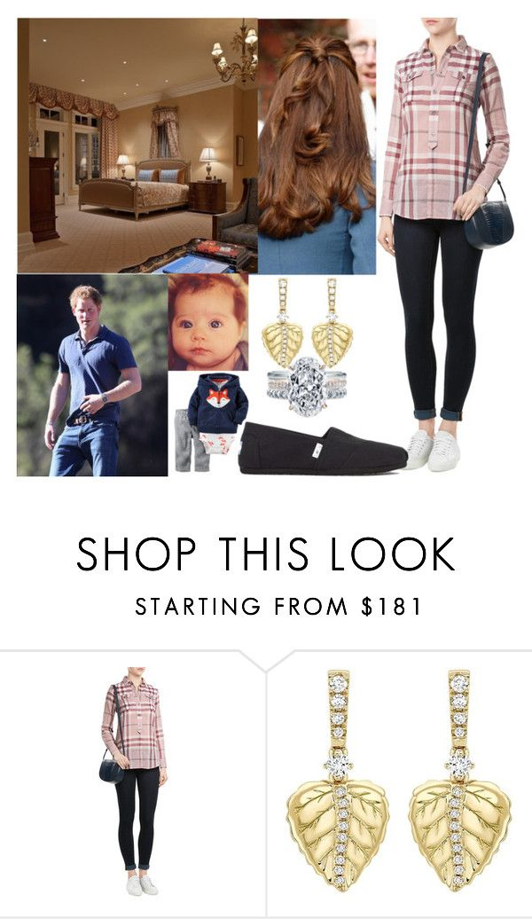 """""""Spending time together as a family during the morning"""" by crownprincesselizabeth ❤ liked on Polyvore featuring TOMS"""