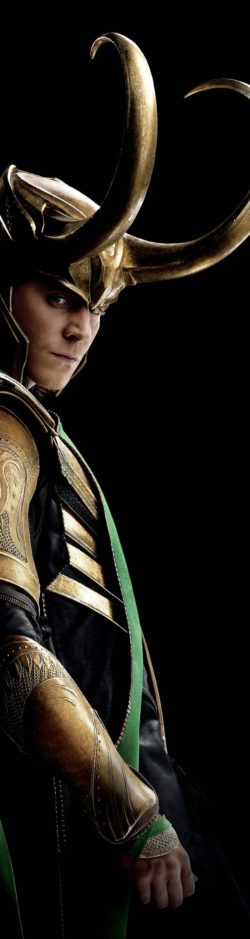 """It was mostly leather and metal – that's how we like it in Asgard. *winks* The heavier, the better.""  -Tom Hiddleston"