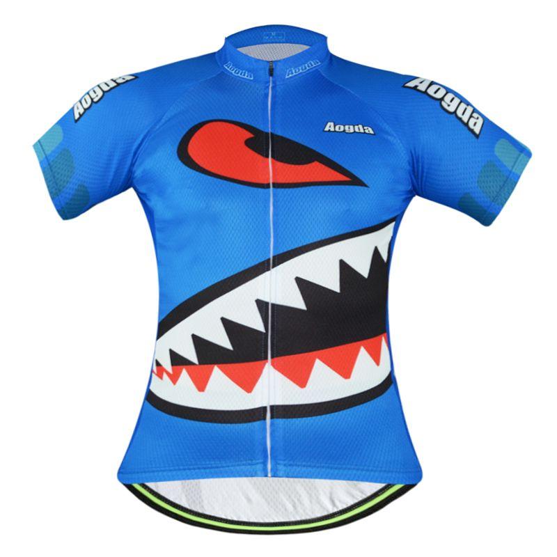 Men S Blue Shark Cycling Clothing Cycling Wear Cycling Jersey