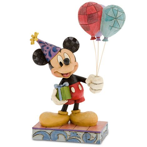65 best Mickey Mouse 75th Birthday Figurines images on ...  |Mickey Mouse Birthday Figurines
