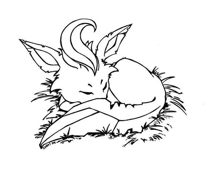 Kawaii Leafeon Coloring Pages Pokemon Coloring Pages Coloring Pages Pokemon Coloring