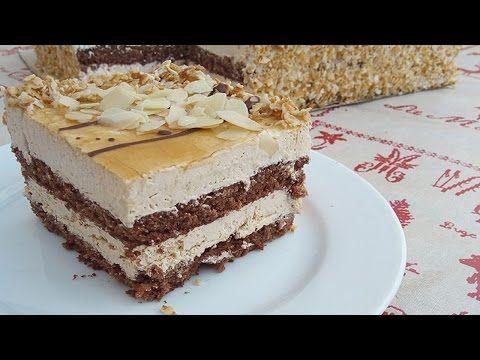 كيكة الكريما بالشكلاط والقهوة روووعة فيديو مشترك مع قناة شهيوات طنجاوية Youtube Cake Desserts Sweets
