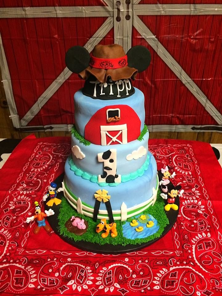 Country mickey mouse cake diaper cake desserts