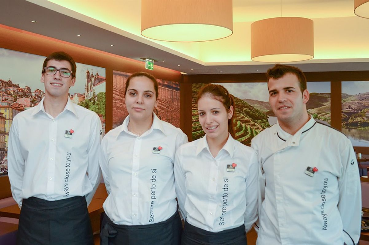 Dining Room and Kitchen Team from Hotel Vila Galé Douro