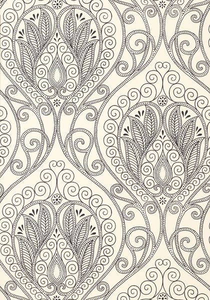 RIO, Black & White, T732, Collection Artisan from Thibaut