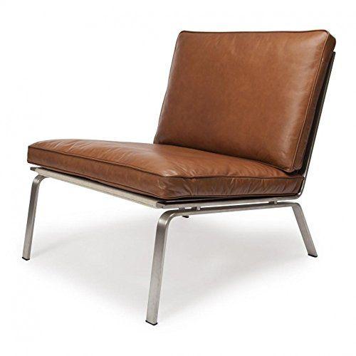 NORR 11 Man Lounge Chair Sessel, Cognac Braun Gebürstet Leder Jetzt  Bestellen Unter: Http