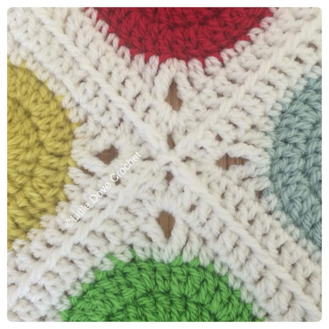 Tight join as you go, my fave join method ❤ | #puntos a crochet ...