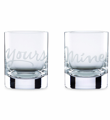 Mi Emporium - Kate Spade NY Two of a Kind Mine/Yours DOF Pair