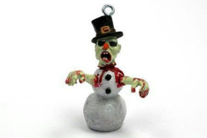 X-mas zombie ornament, in case you don't already have one. - X-mas Zombie Ornament, In Case You Don't Already Have One. Xmas