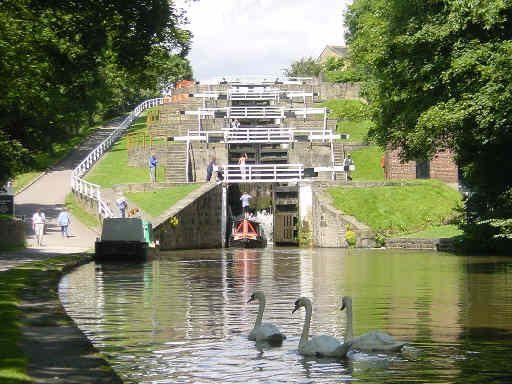 5 Rise Locks In Bingley Uk My Grandpa Grew Up In Bingley Just Up