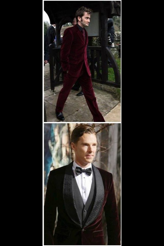 The Red Velvet Suit Wars. David vs Benedict. What do you guys think?