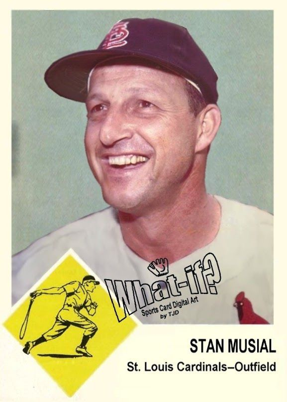 1963 Fleer Stan Musial