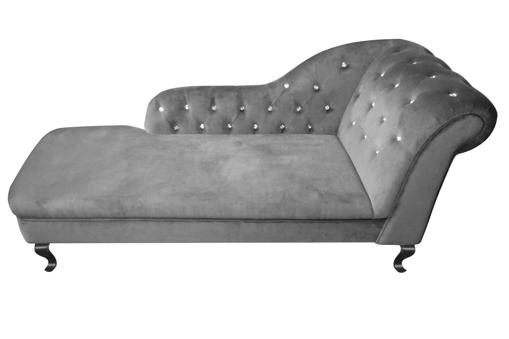 Diamante Chaise Lounge with Right Armrest Wayfair UK