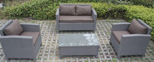 el Set Grace, un conjunto de muebles de exterior fabricados en ...