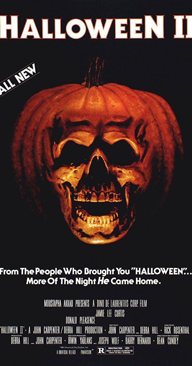 Halloween II (1981) - IMDb | Horror Flicks 2017 | Pinterest ...