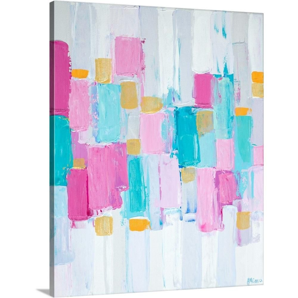 """GreatBigCanvas """"Cool Rhizome II"""" by Ann Marie Coolick Canvas Wall Art 2372663_24_16x20 - The Home Depot"""