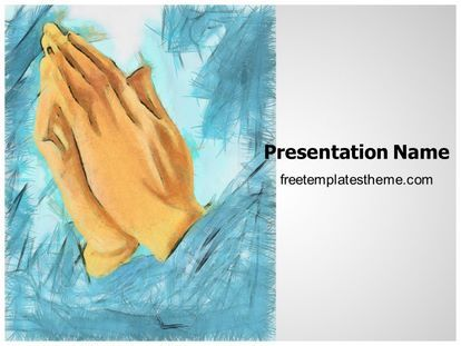 Download free praying hands powerpoint template for your download free praying hands powerpoint template for your powerpoint toneelgroepblik Images