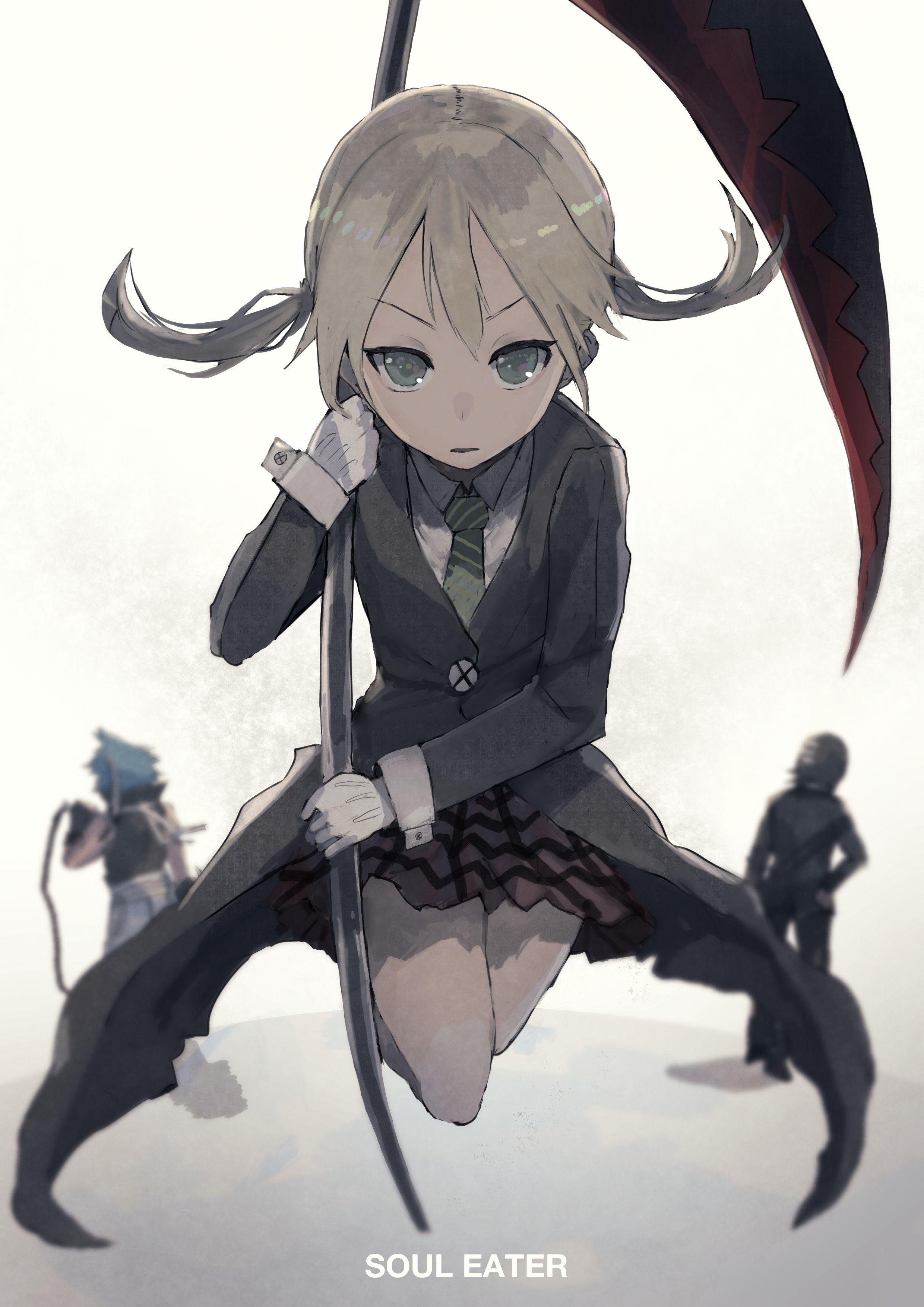 Maka Albarn Soul Eater Soul Eater Kid Anime Soul Soul Eater