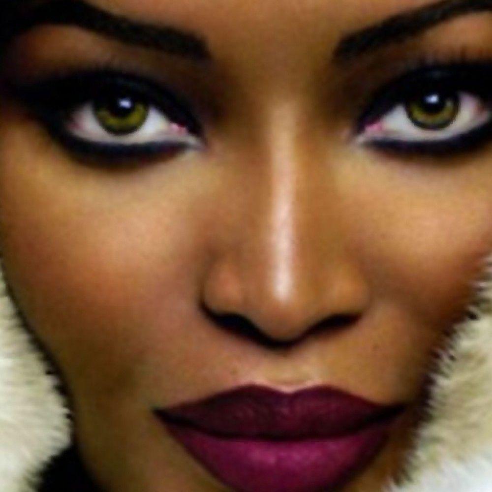 eye shadow for dark skin   Makeup Tips For Dark Skin (20 Photos ...