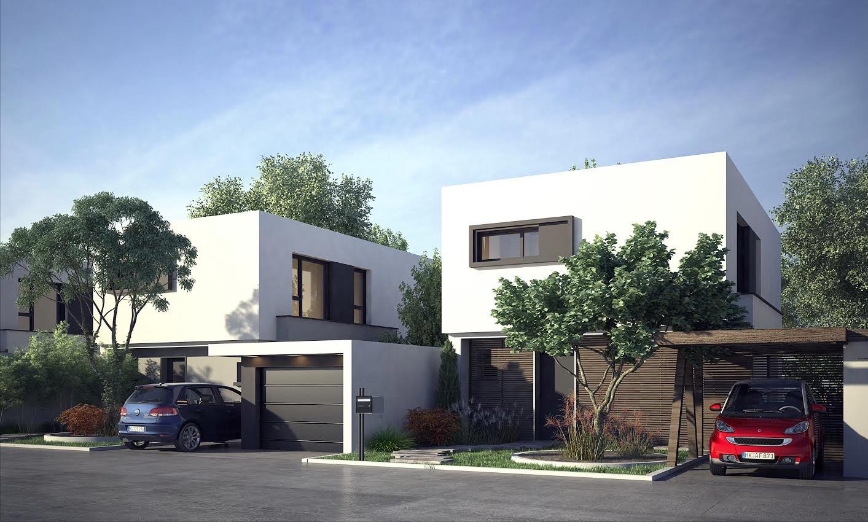 construire deux maisons sur un terrain free pour un modle plainpied de m avec deux chambres le. Black Bedroom Furniture Sets. Home Design Ideas