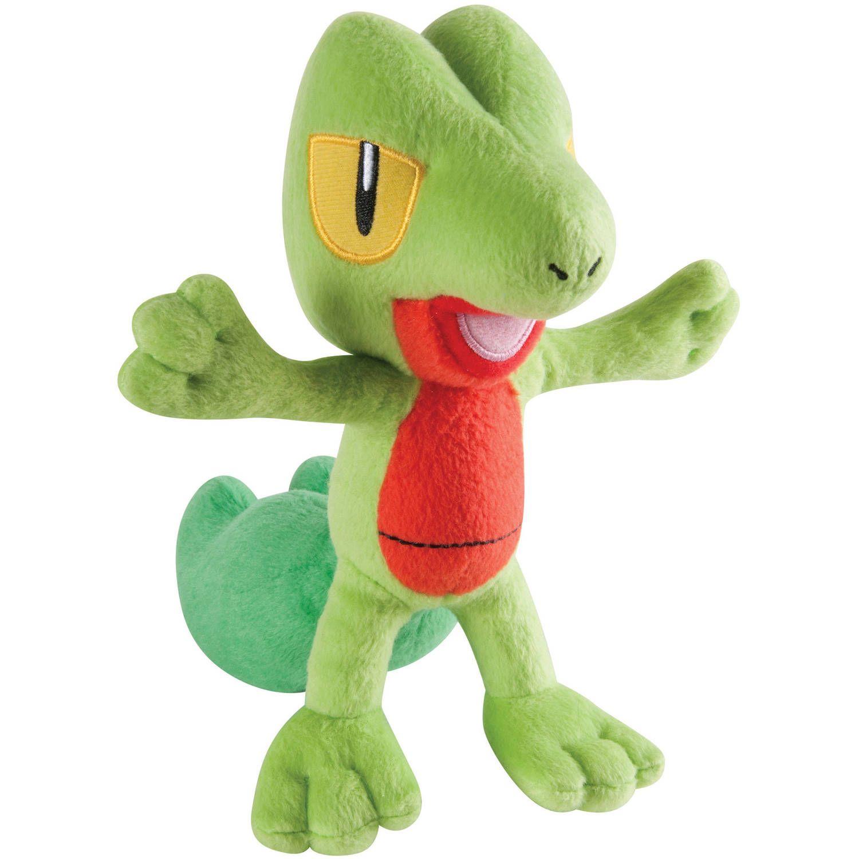 Christmas Buying Pokemon Small Plush Treecko for Christmas Gifts