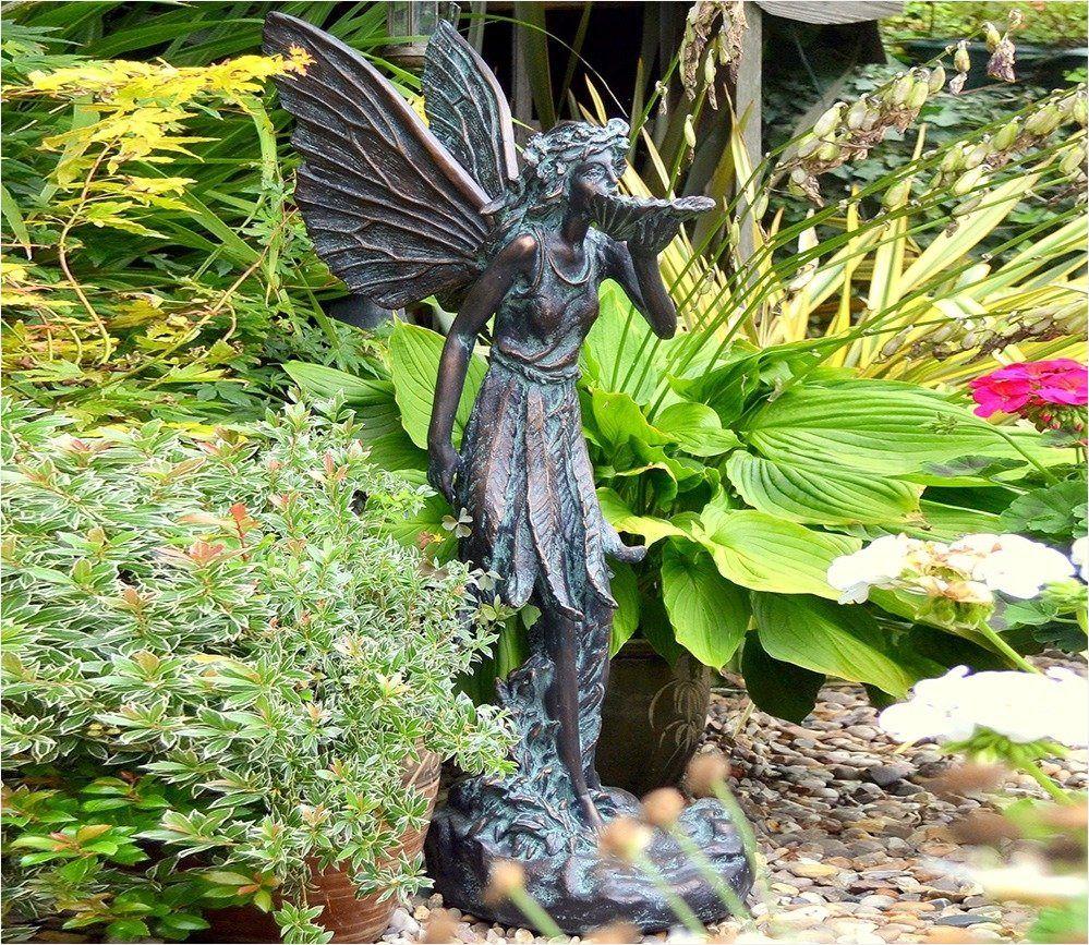 Standing Fairy Statue Garden Ornament Gardensite Complete Fairy Garden Statues Resin Ko12512 Special 24 Fair In 2020 Garden Statues Fairy Garden Fairy Garden Ornaments