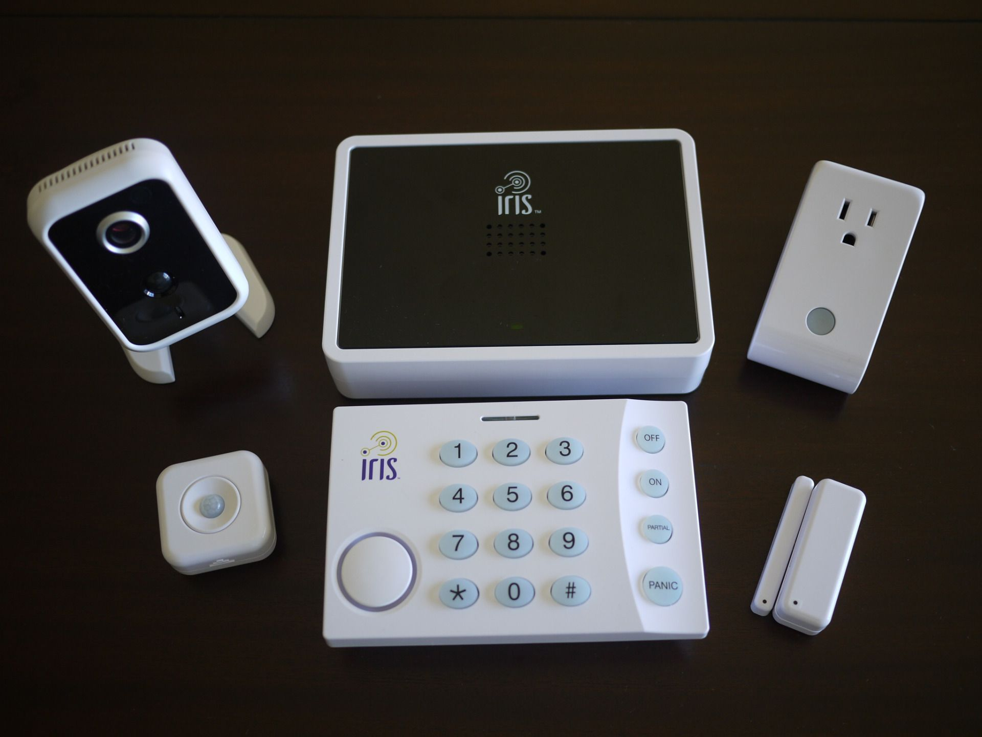 Loweus Iris Home Security System Review Bonnie Cha Product