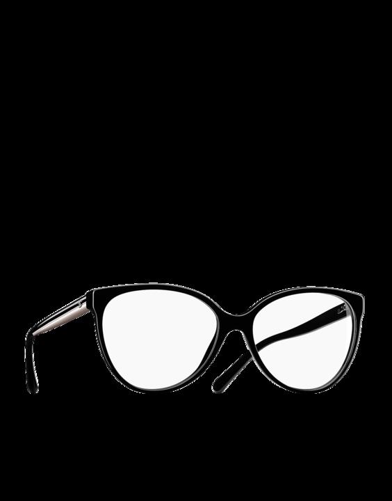 0f3c6768d Óculos de grau oversized em acetato... - CHANEL | Óculos de grau ...