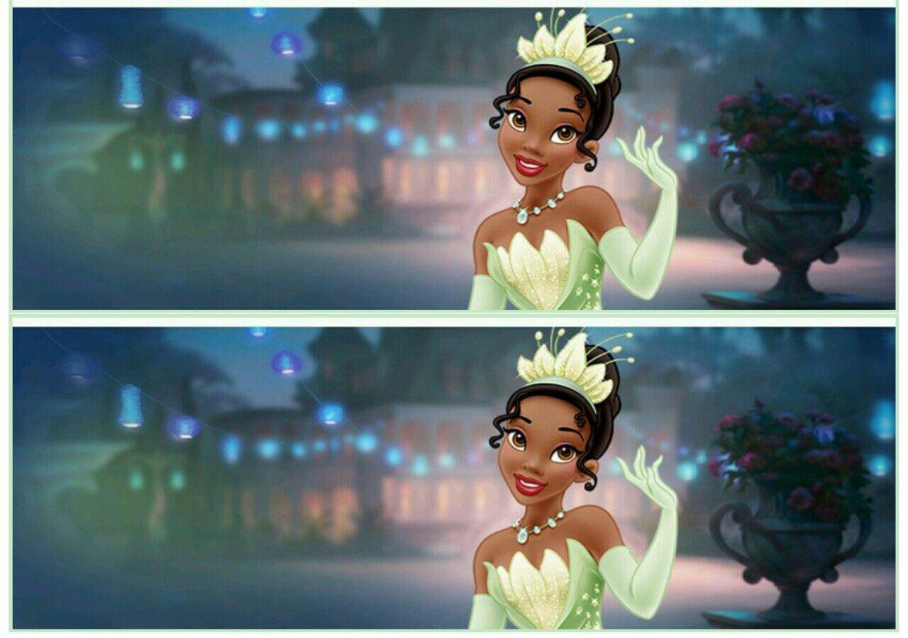 Faixa Lateral Princesa Tiana By Tati Quintanilha Princesa