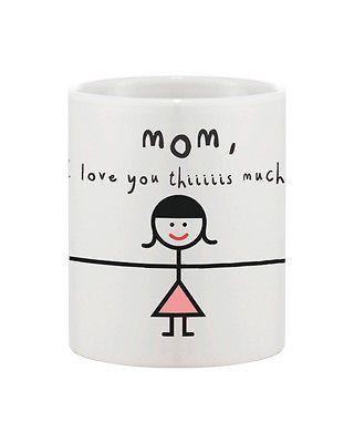 Cute Mother s Day Gift for Mom Ceramic Coffee Mug - MOM df6faa8677