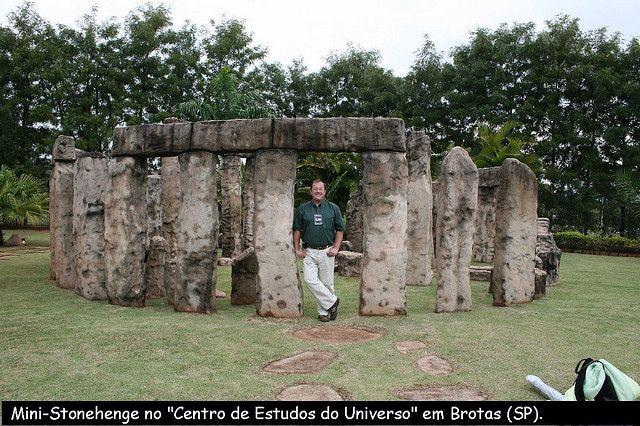 Mini-Stonehenge, CEU, em Brotas by SPCA - Astronomia em Ponta Grossa, Paraná, via Flickr