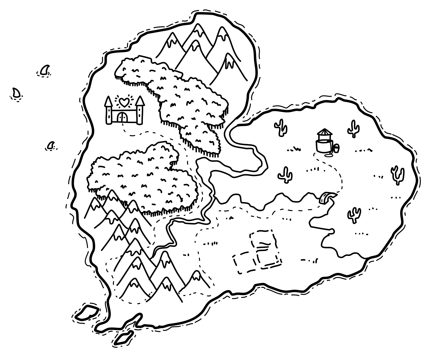 How To Draw Fantasy Maps Super Easy In Shadowdraw