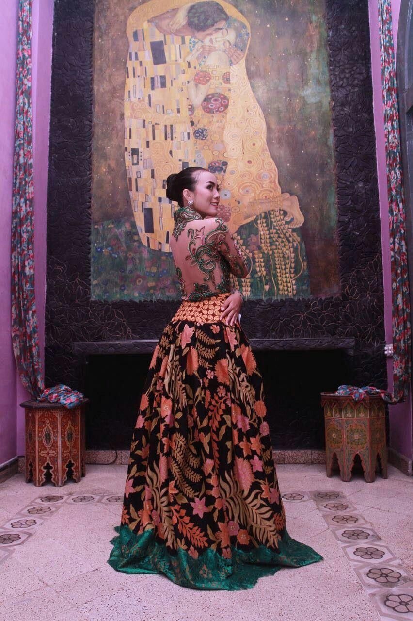 Pin By Omi Ken On Brokat Painting Art Dresses