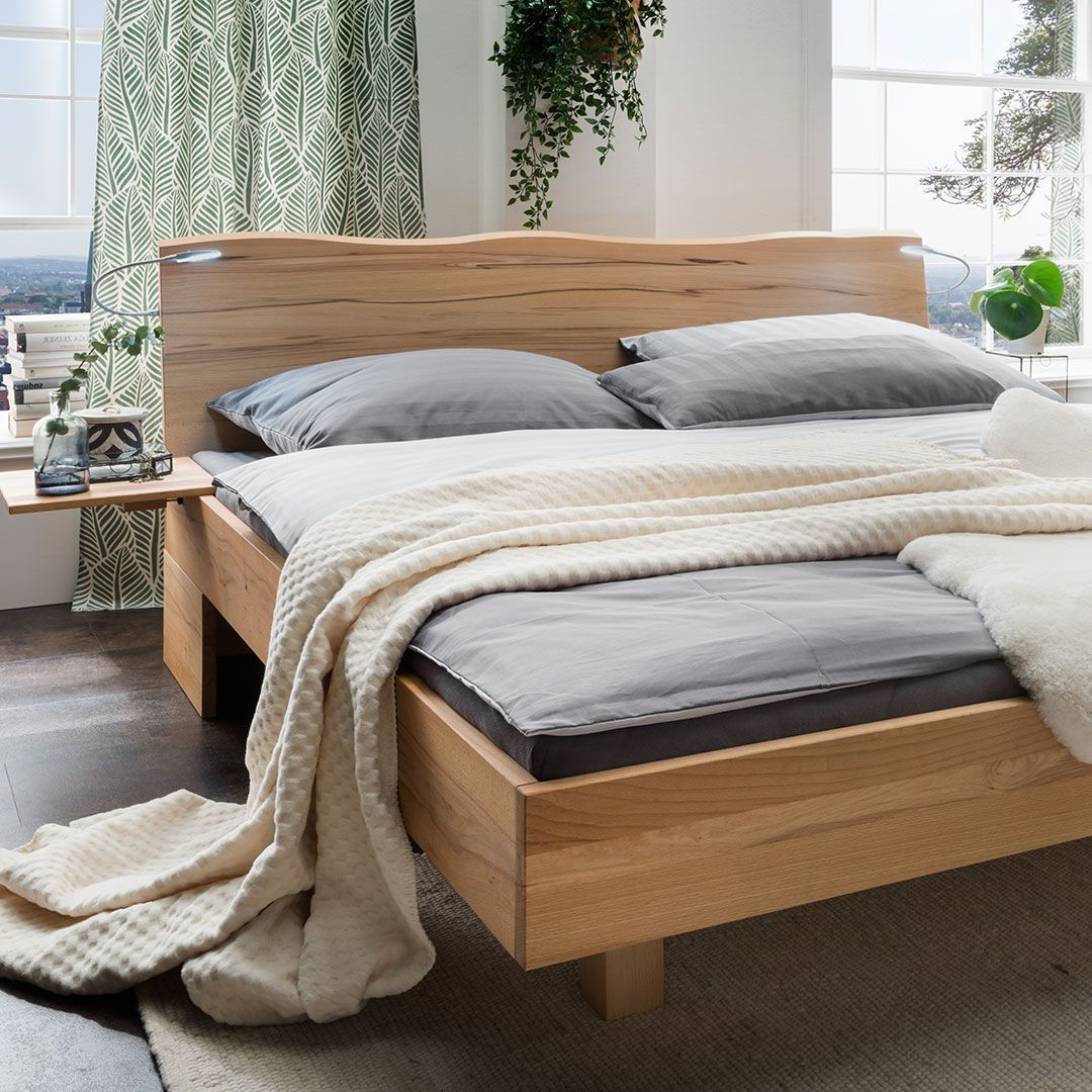 Schwebebett Turvo Gr E 140x200 Cm Holzart Erle H He Bettrahmen 49 Cm Oberfl Che Ge Lt Diy Furniture Couch Big Pillows Dark Leather Couches