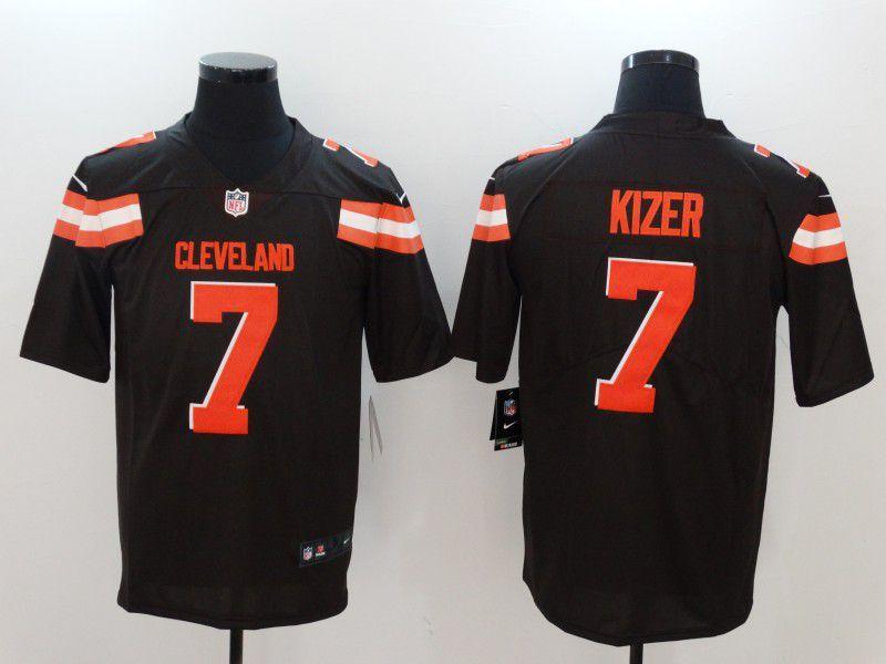 ca98fc73ea0 ... wholesale men cleveland browns 7 kizer brown nike vapor untouchable  limited nfl jerseys 0263e 8398b